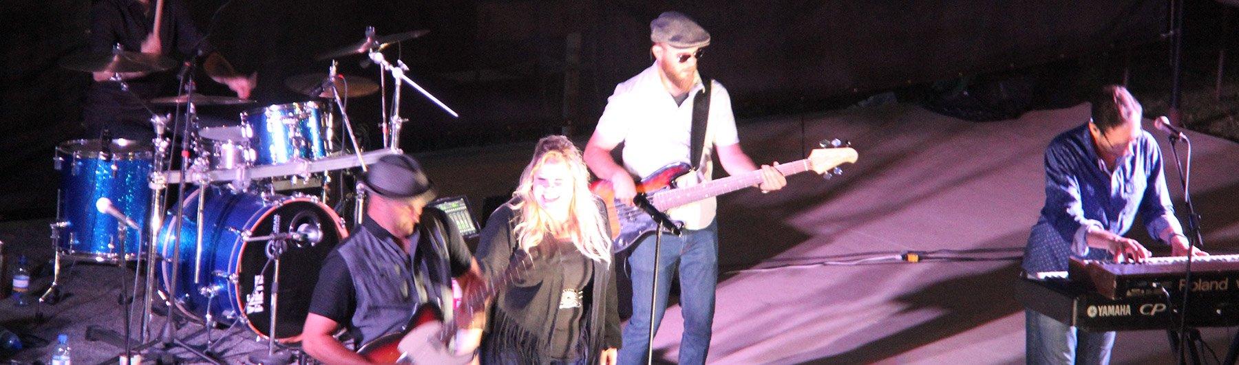 band at fair