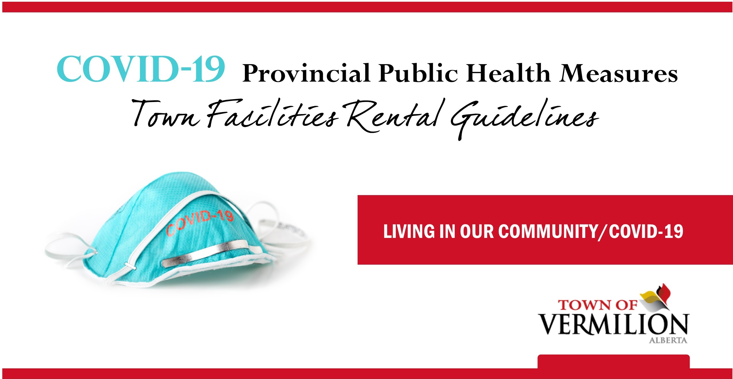 COVID-19 Town Facilities Rental Guidelines
