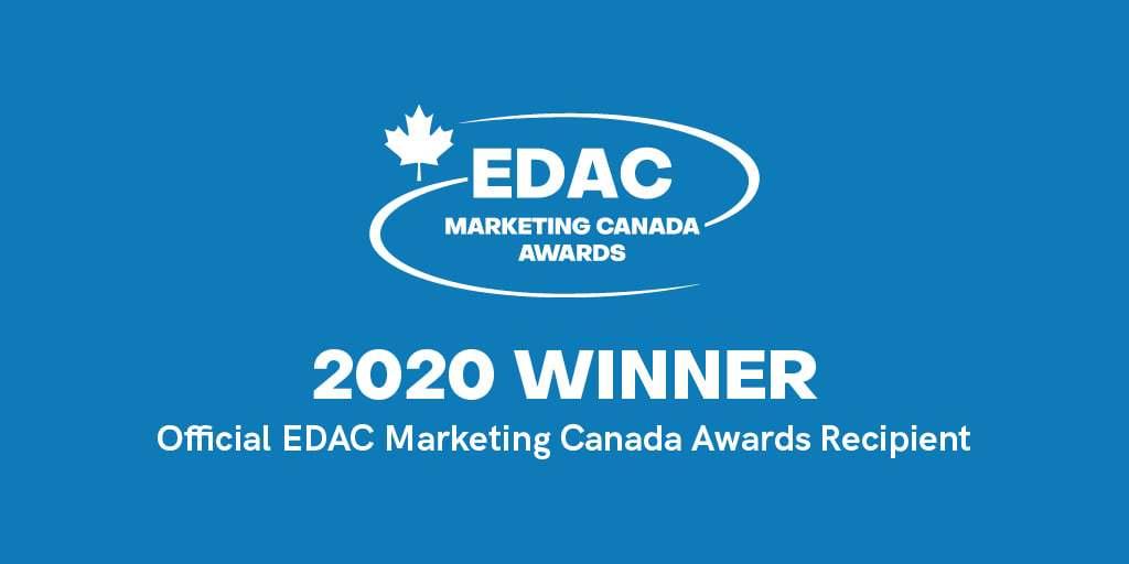 EDAC 2020 Marketing Canada Award Winner