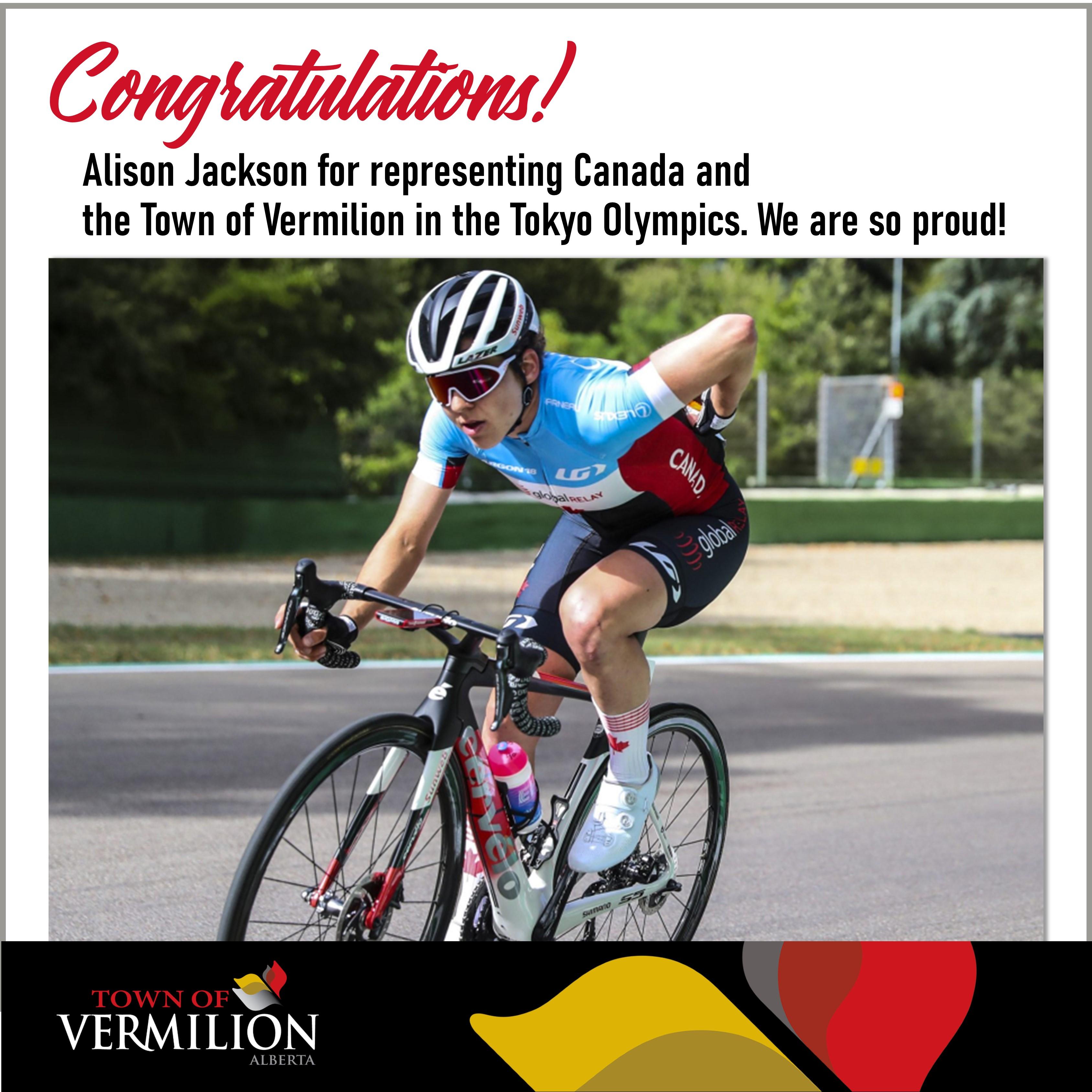 Congratulations Alison Jackson