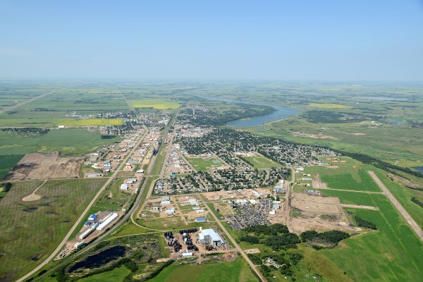 Aerial Photo of Vermilion